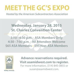 ASA Meet the GC's Expo